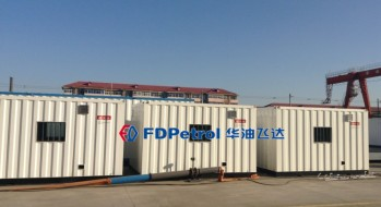 FD camps for PDVSA project